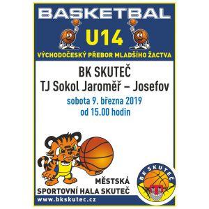 U14 - v sobotu doma přivítáme tým z Josefova - Jaroměře