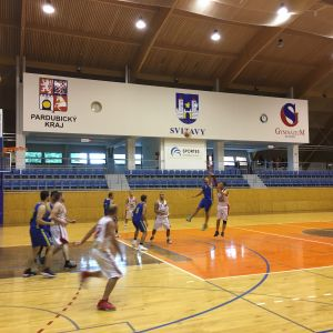 Tým muži- nedělní basketbalová bitva ve Svitavech