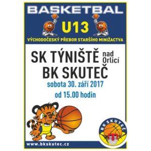 U13-sobotní zápasy v Týništi nad Orlicí