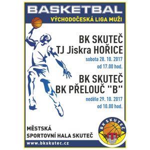 Muži + U13 - Pozvánka na basketbalový víkend ve Skutči