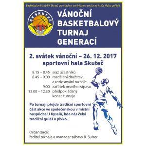 POZVÁNKA NA VÁNOČNÍ TURNAJ  NA SVATÉHO ŠTĚPÁNA - 26.12.