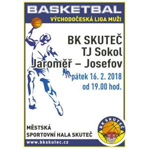 Muži - poslední zápas v základní části soutěže VČL-16.2.doma s Josefovem